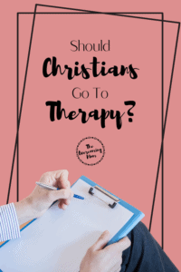 God makes it abundantly clear that therapy is not sinful, or faith-lacking, but it is in fact wise! It's ok to have Jesus and therapy!