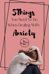 Instead of shaming yourself for your anxiety, you can learn how to cope with and overcome anxiety. Here's 5 strategies to help you!